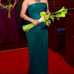 Vera Wang's Green sheath dress